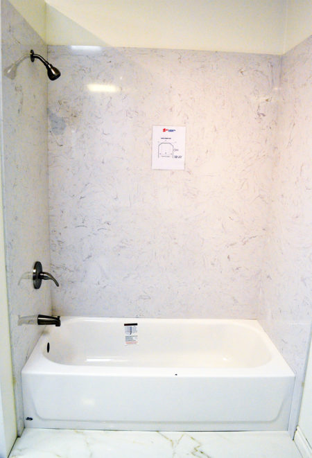 Quartz Bathtub Amp Shower Surround A1 Cabinets Amp Granite