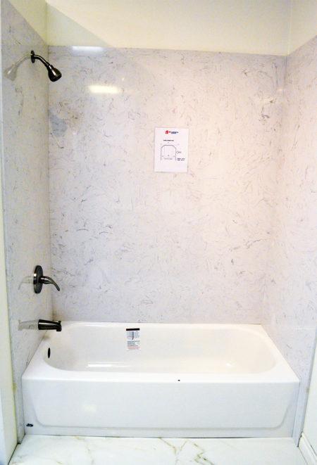 Quartz Bathtub Amp Shower Surround A1 Cabinets Amp Granite